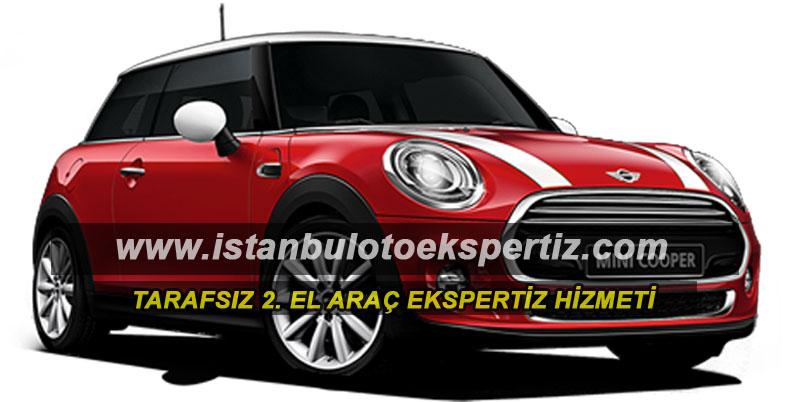 Mini cooper bayan arabası
